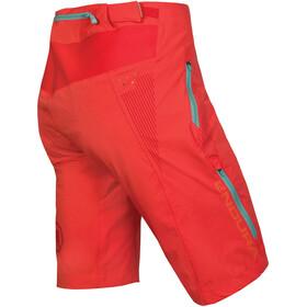 Endura SingleTrack Lite II Spodnie krótkie Kobiety, coral